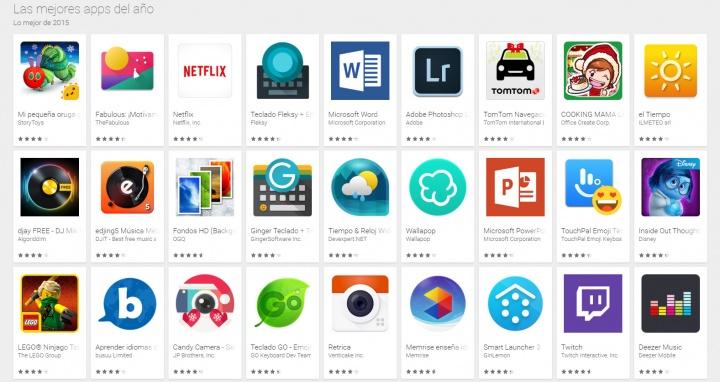Imagen - Las mejores apps para Android del 2015 según Google