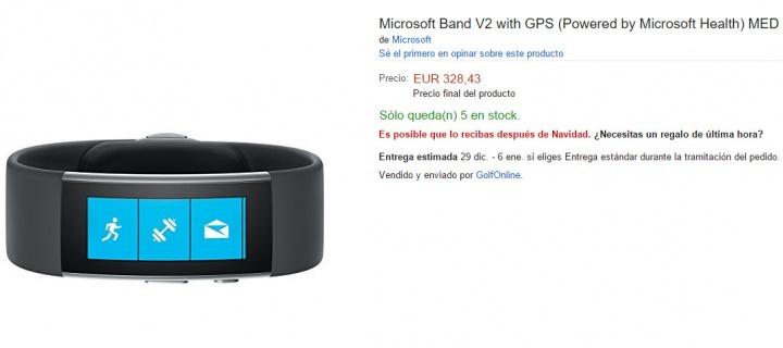 Imagen - Dónde comprar la Microsoft Band 2