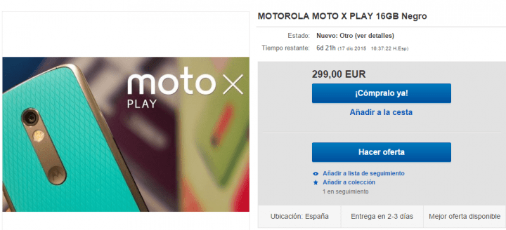 Imagen - 5 tiendas donde comprar el Moto X Play