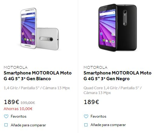 Imagen - Dónde comprar el Motorola Moto G 2015 más barato