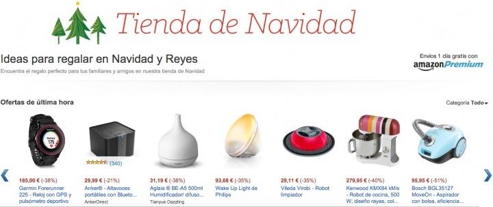 Imagen - Amazon lanza ofertas de última hora en la tienda de Navidad