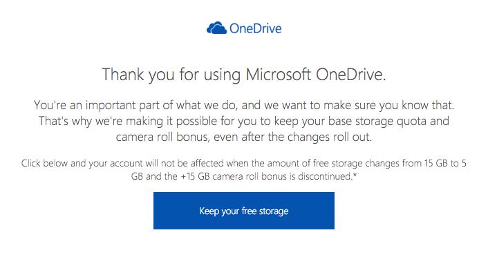 Imagen - Microsoft vuelve a ofrecer 15 GB en OneDrive