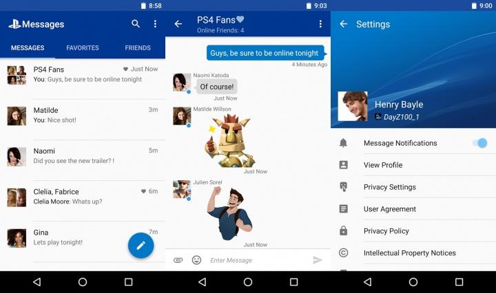 Imagen - PlayStation Messages, el WhatsApp de PlayStation llega a iOS y Android