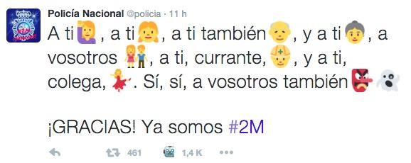 Imagen - La Policía Nacional sortea 5 premios para celebrar los #2M de seguidores en Twitter