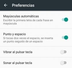 Imagen - Cómo desactivar la vibración del teclado en Android