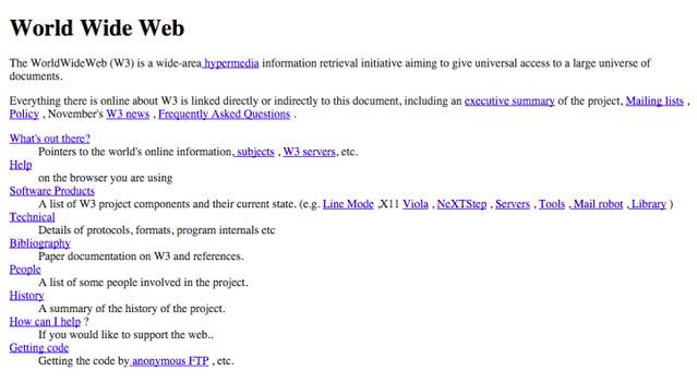 Imagen - Se cumplen 25 años de la primera página web