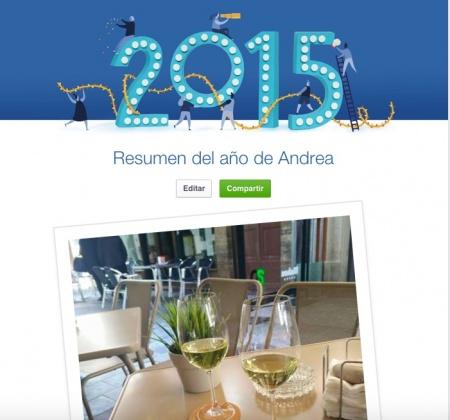 """Imagen - Cómo ver el """"Resumen del año"""" en Facebook"""