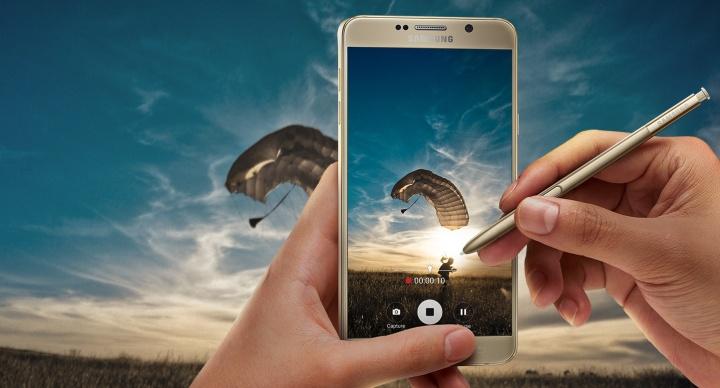El Samsung Galaxy Note 5 llegará en enero a Europa