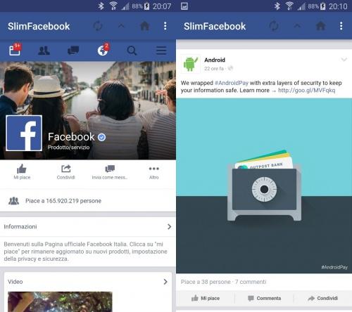 Imagen - SlimFacebook, una app alternativa para Facebook más ligera