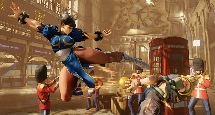 Street Fighter V ya disponible