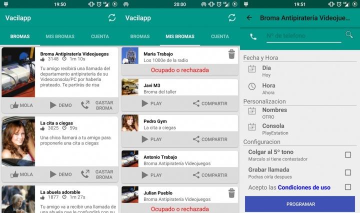 Imagen - Vacilapp, la app de bromas por teléfono para Android