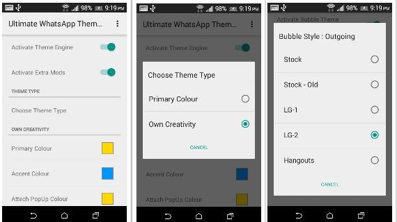 Imagen - ¿Es posible cambiar el color de WhatsApp?