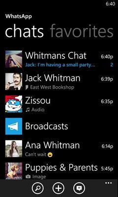 Imagen - WhatsApp 2.12.222 ya disponible para Windows Phone y Windows 10