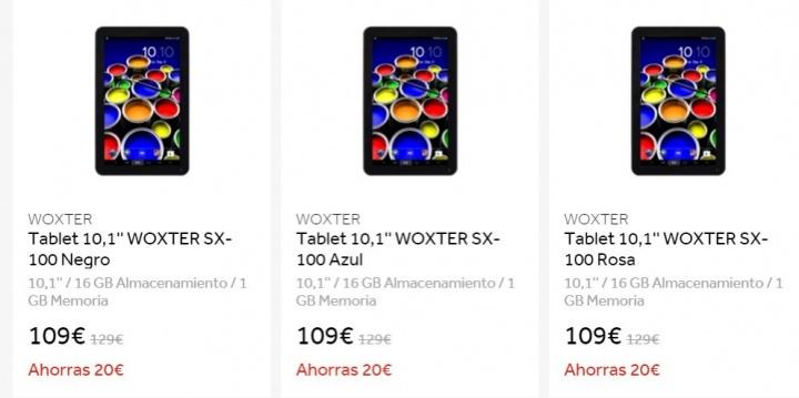 Imagen - Dónde comprar la Woxter SX 100