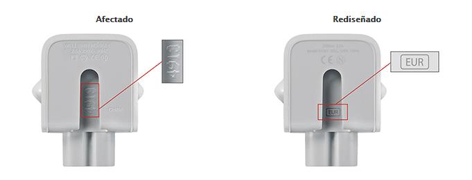 Imagen - Apple anuncia el reemplazo de adaptadores de corriente defectuosos