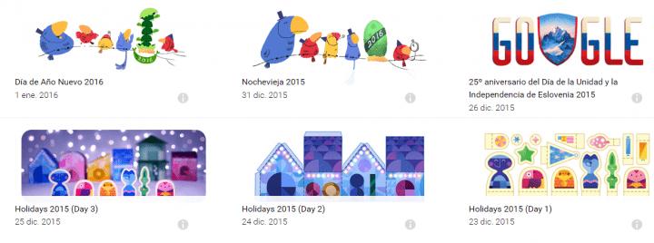 Imagen - Google te desea Feliz Año Nuevo con un Doodle