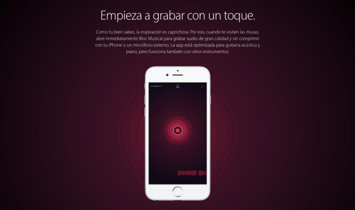 Imagen - Apple lanza Bloc Musical, una app para componer música