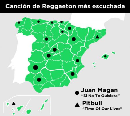 Imagen - El reggaeton es el género preferido en España según Spotify