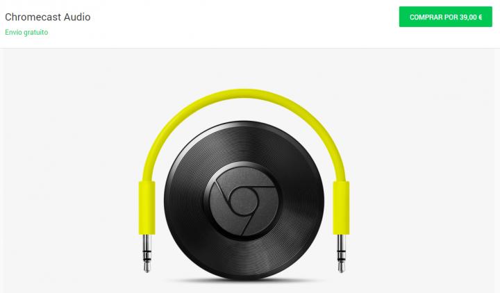 Imagen - Dónde comprar el Chromecast Audio