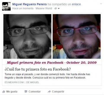 Imagen - ¿Cuál fue tu primera foto en Facebook?, el nuevo viral de moda