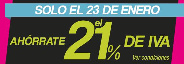 Imagen - El Corte Inglés celebra el Día sin IVA el 23 de enero