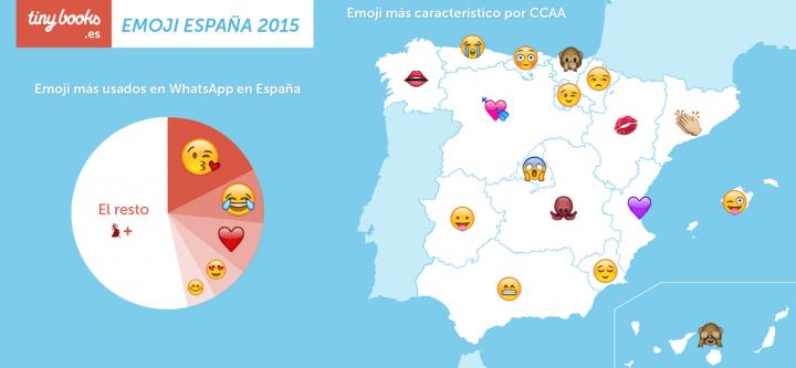 Imagen - Los emojis más usados por comunidad autónoma