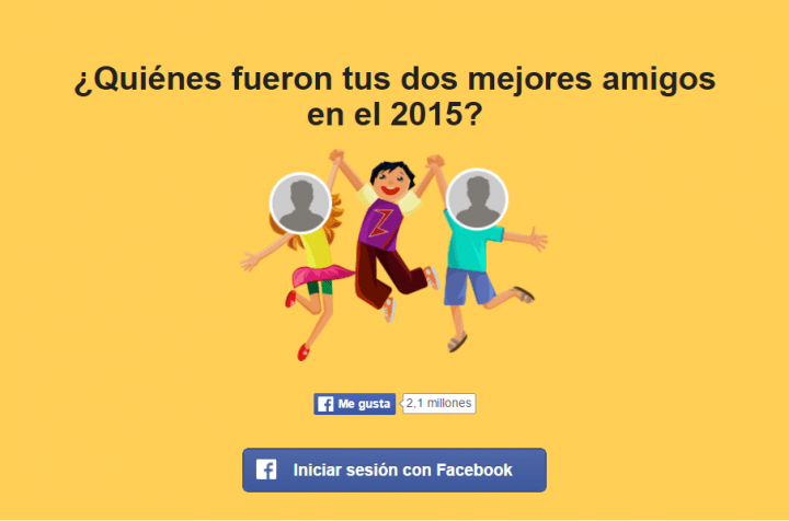 Imagen - ¿Quiénes fueron tus dos mejores amigos en el 2015, según Facebook?
