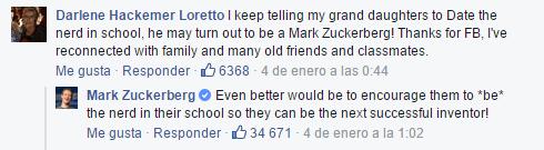 """Imagen - Una abuela llama """"nerd"""" a Mark Zuckerberg y se hace viral"""
