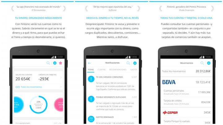 Imagen - Fintonic, la app para controlar todas tus cuentas