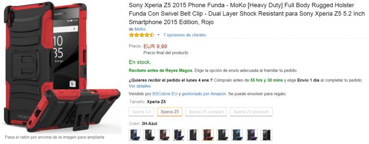Imagen - 5 fundas para el Sony Xperia Z5