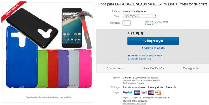 Imagen - 5 fundas para el Nexus 5X