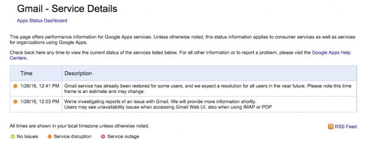 Imagen - Gmail sufre problemas para algunos usuarios