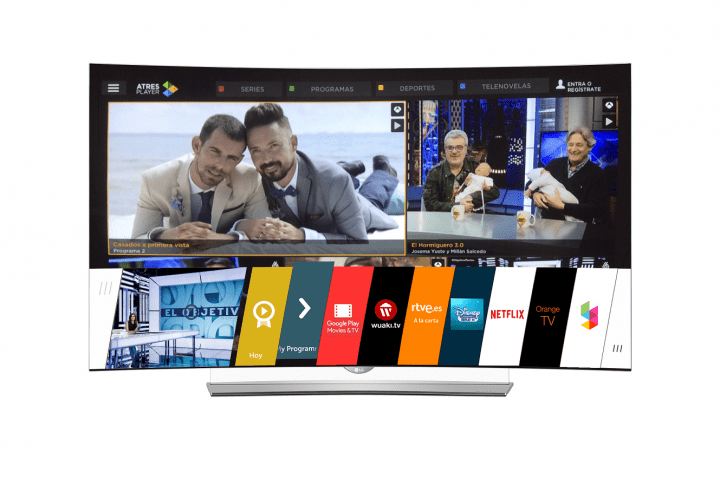 Imagen - LG Smart TV incorpora Atresplayer