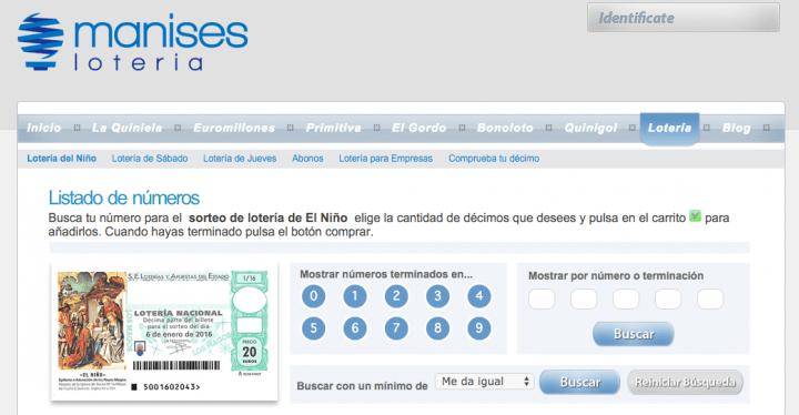 Imagen - Cómo comprar Lotería del Niño por Internet