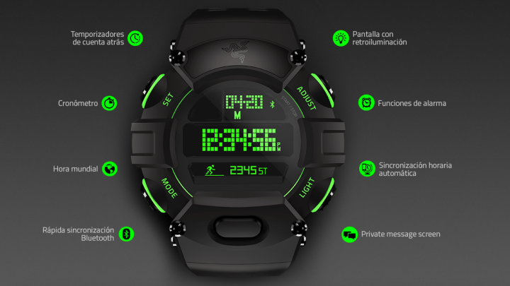 Imagen - Nabu Watch, el primer smartwatch de la marca gamer Razer