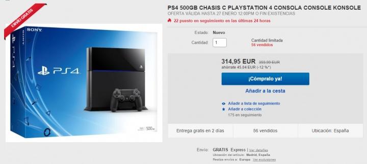 Imagen - Oferta: Compra la PlayStation 4 más barata