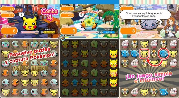 Imagen - Descarga Pokémon Shuffle, el juego oficial para Android