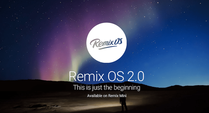 Remix OS 2.0, el mejor sistema operativo Android para los PCs Windows