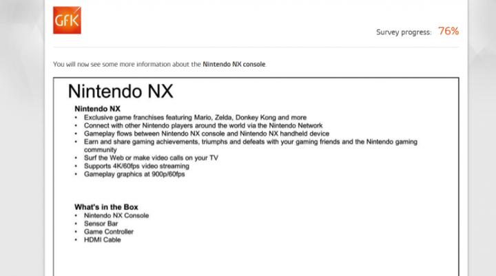 Imagen - Se filtra la nueva Nintendo NX