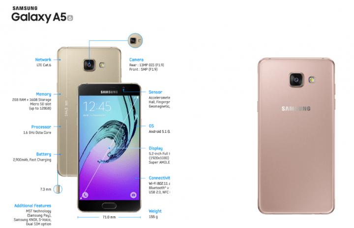 Imagen - Samsung Galaxy A (2016) llega a España