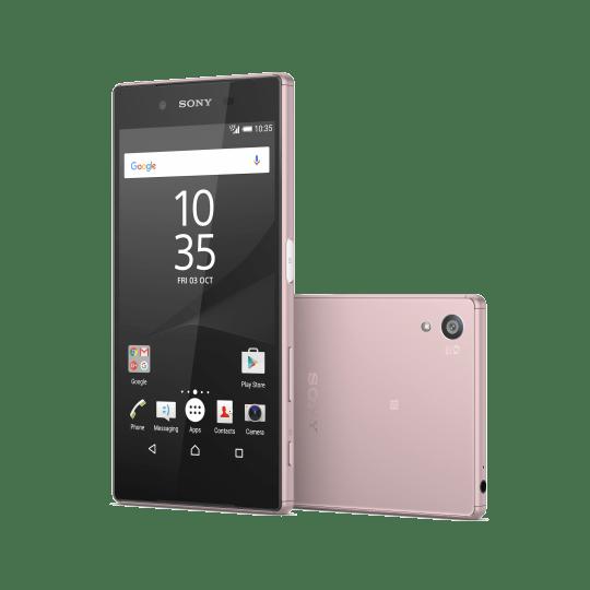 Imagen - Sony Xperia Z5, ahora en color rosa
