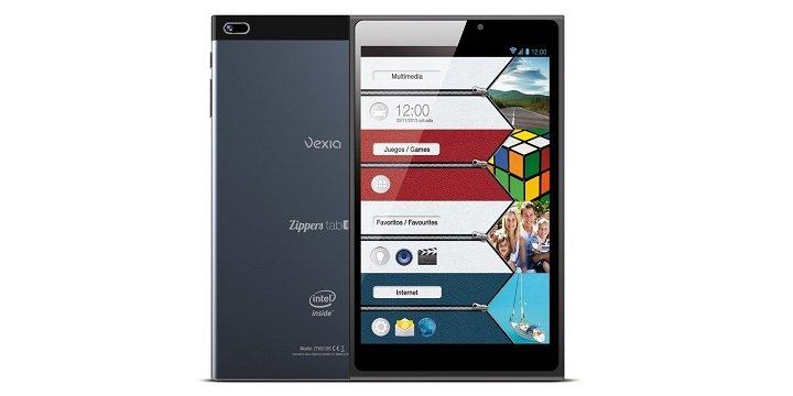 Vexia Zippers Tab i8, un tablet de 8 pulgadas por 79 euros
