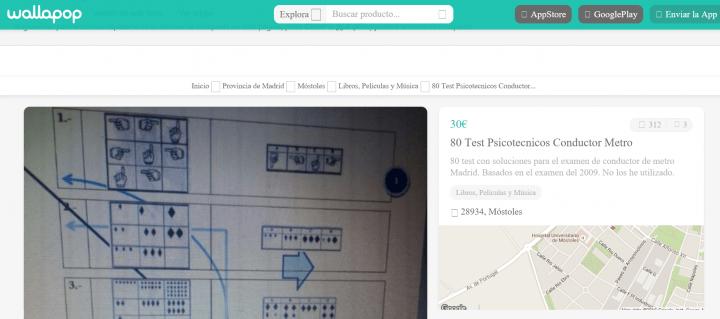 Imagen - Wallapop, el nuevo sitio para vender exámenes