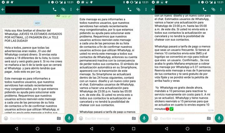 Imagen - WhatsApp no va a cerrar ni cobrará por usarlo