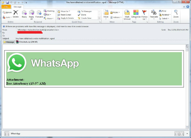 Imagen - Nuevo malware se dirige a los usuarios de WhatsApp