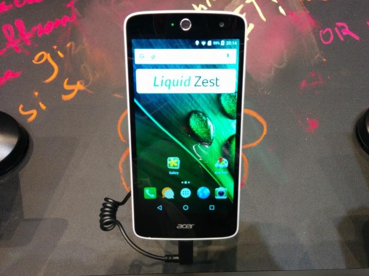 Imagen - Acer Liquid Zest y Acer Liquid Zest 4G, presentados oficialmente en el MWC