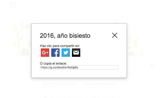 Imagen - Google celebra el Año bisiesto con un Doodle