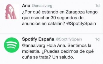Imagen - Spotify vive una polémica por los anuncios en catalán
