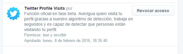 """Imagen - Cuidado con """"Averigua quien visita tu perfil"""" en Twitter"""