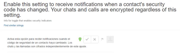 Imagen - WhatsApp nos avisará cuando el código de seguridad de un contacto cambie